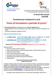 FORMAZIONE neo assuntiruolo 3_4_marzo_16 UIL_IRASE
